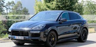 Porsche Cayenne Coupe Spy Shot