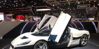 Rimac C_Two Geneva Motor Show Images
