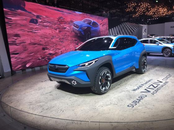 Subaru Viziv Adrenaline Concept Geneva Motor Show