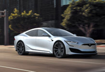 New Tesla Model S Render