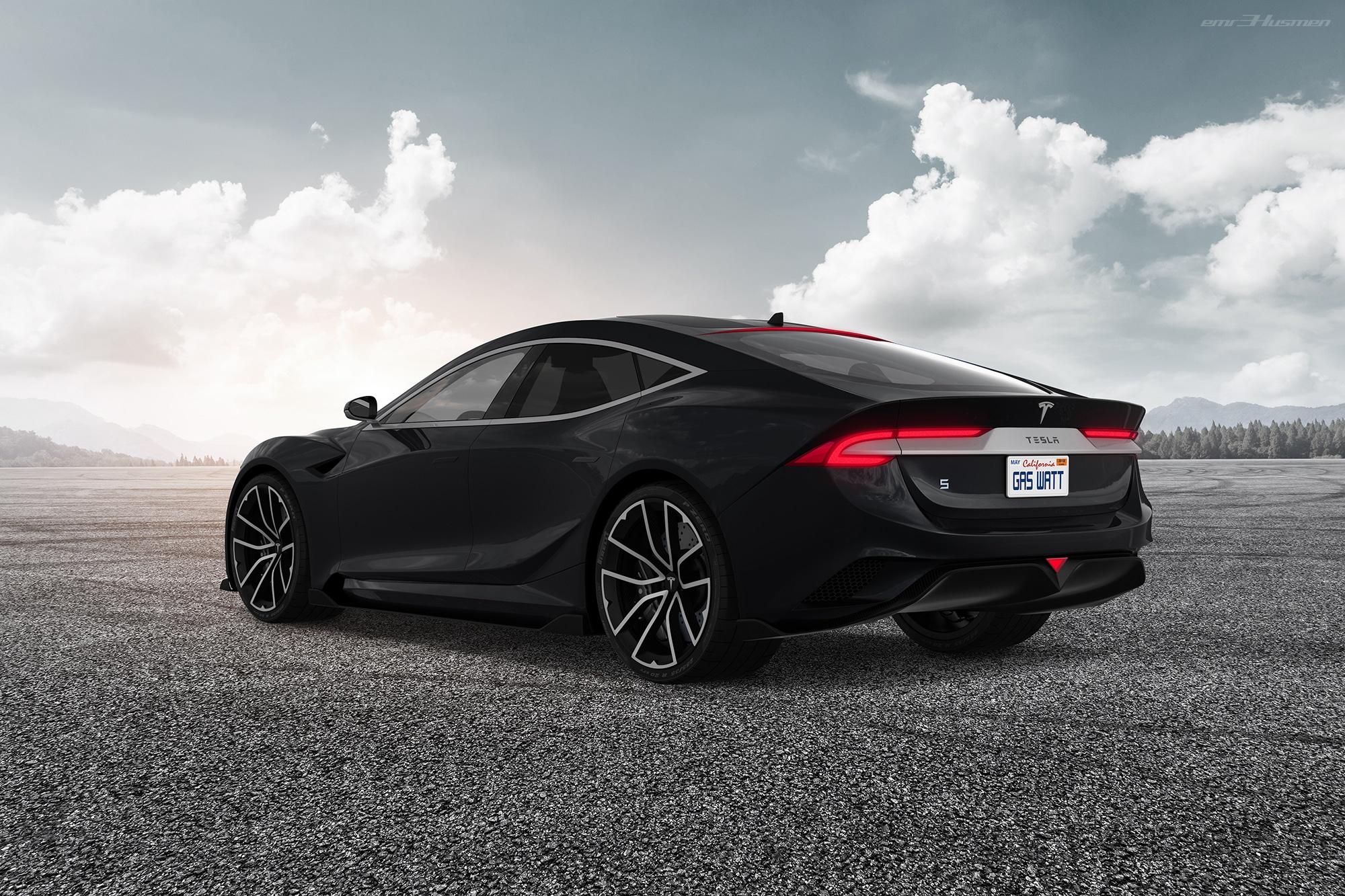 Next Tesla Model S Rendering