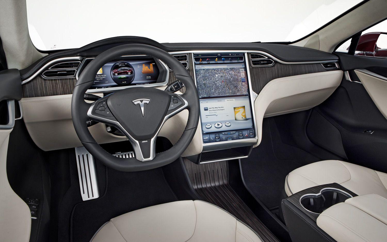 Tesla Model X Interior