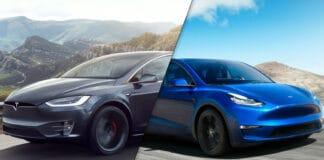 Tesla Model X vs Tesla Model Y