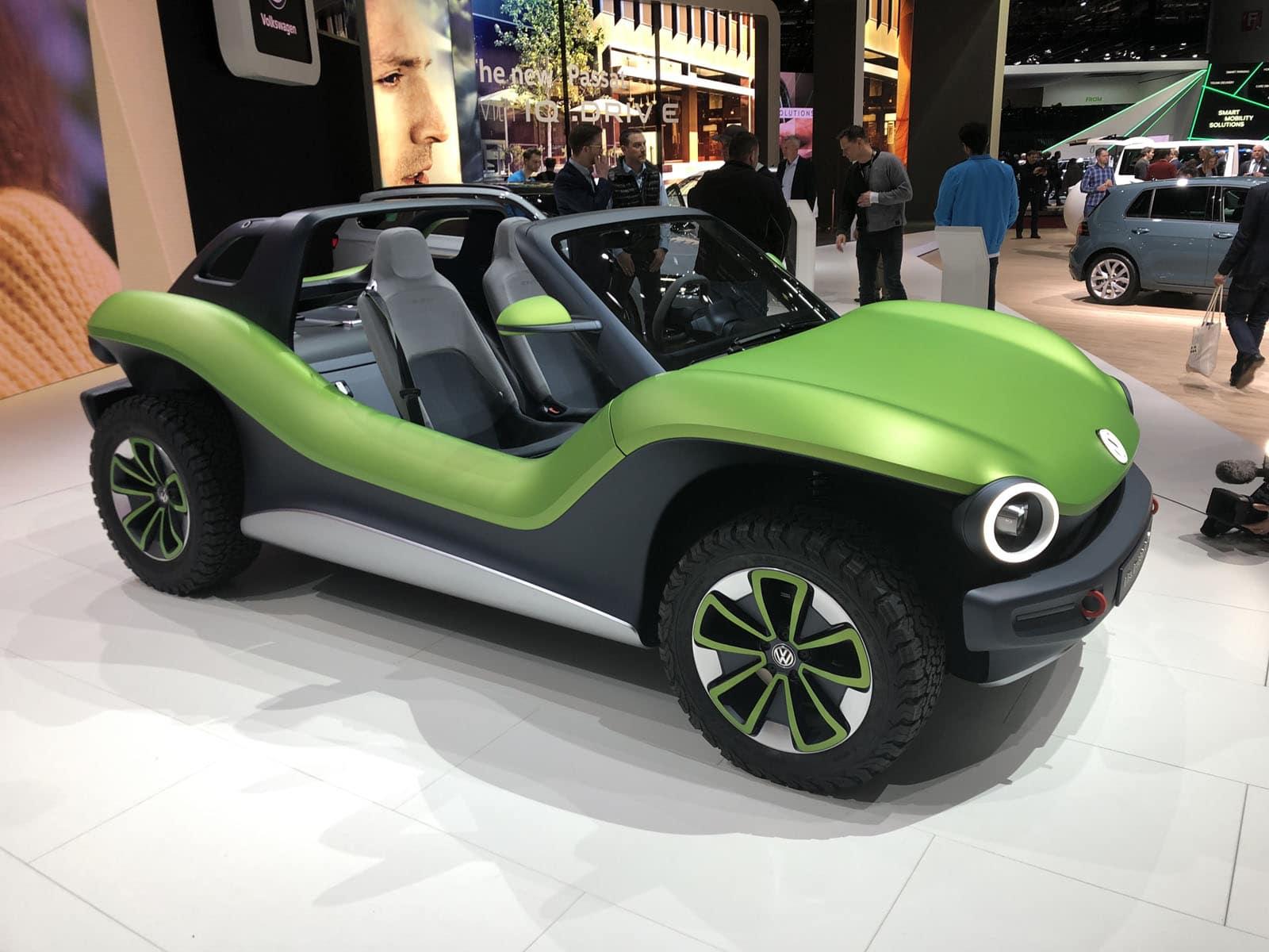 Volkswagen electric vehicles