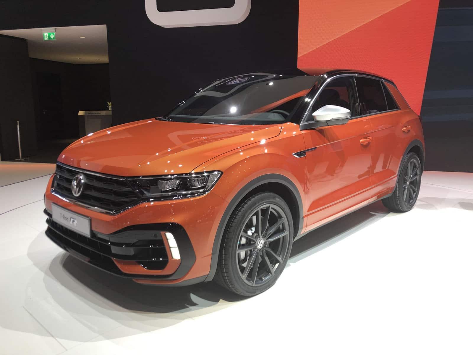 Volkswagen T-Roc R Geneva Motor Show