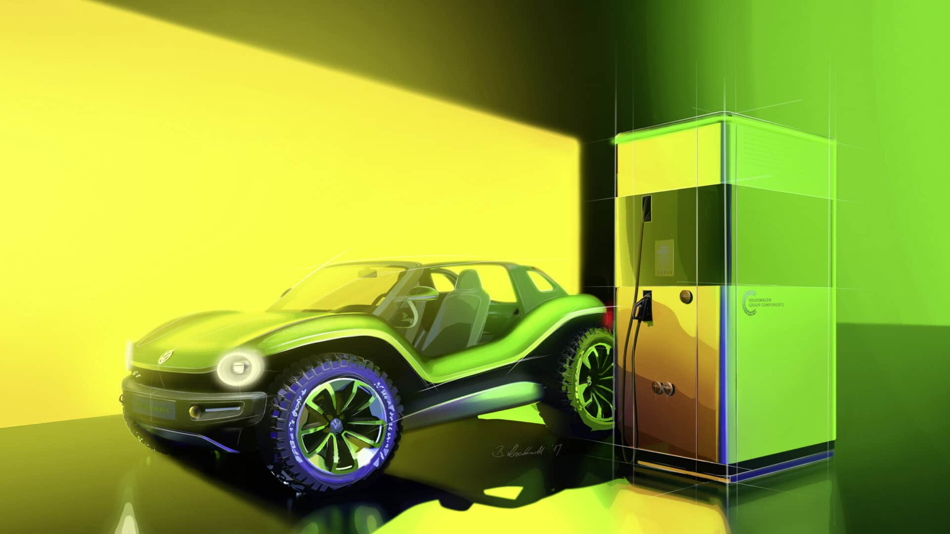 Volkswagen I.D. Buggy Geneva Motor Show