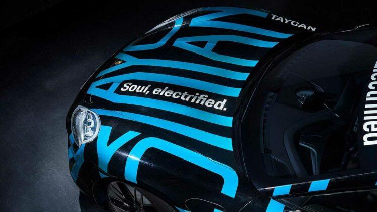 Porsche Taycan Teaser Images