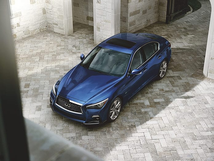 INFINITI introduces 2019 Q50 Signature Edition