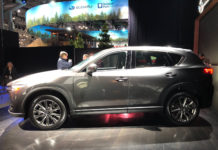 2019 Mazda CX-5 Diesel unveiled at 2019 New York Auto Show