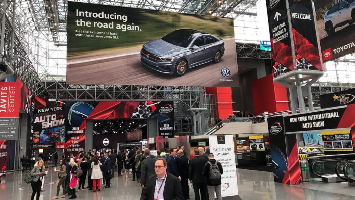 2019 New York International Auto Show Atrium