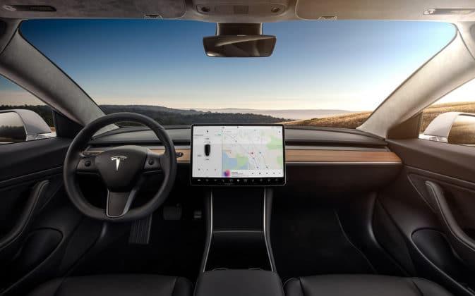 2019 Tesla Model 3 Interior