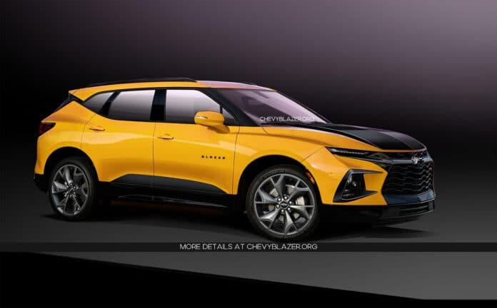 2020 Chevrolet Blazer SS Render
