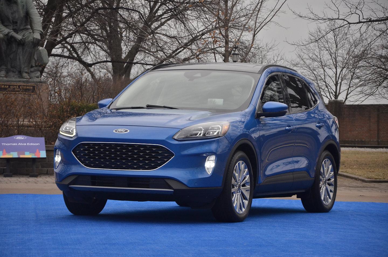 Premier essai routier du Ford Escape 2020 : remonter la ...