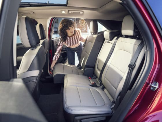 2020 Ford Escape Interior Sliding seat