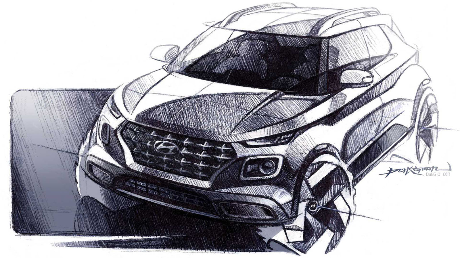 2020 Hyundai Venue Teaser Image