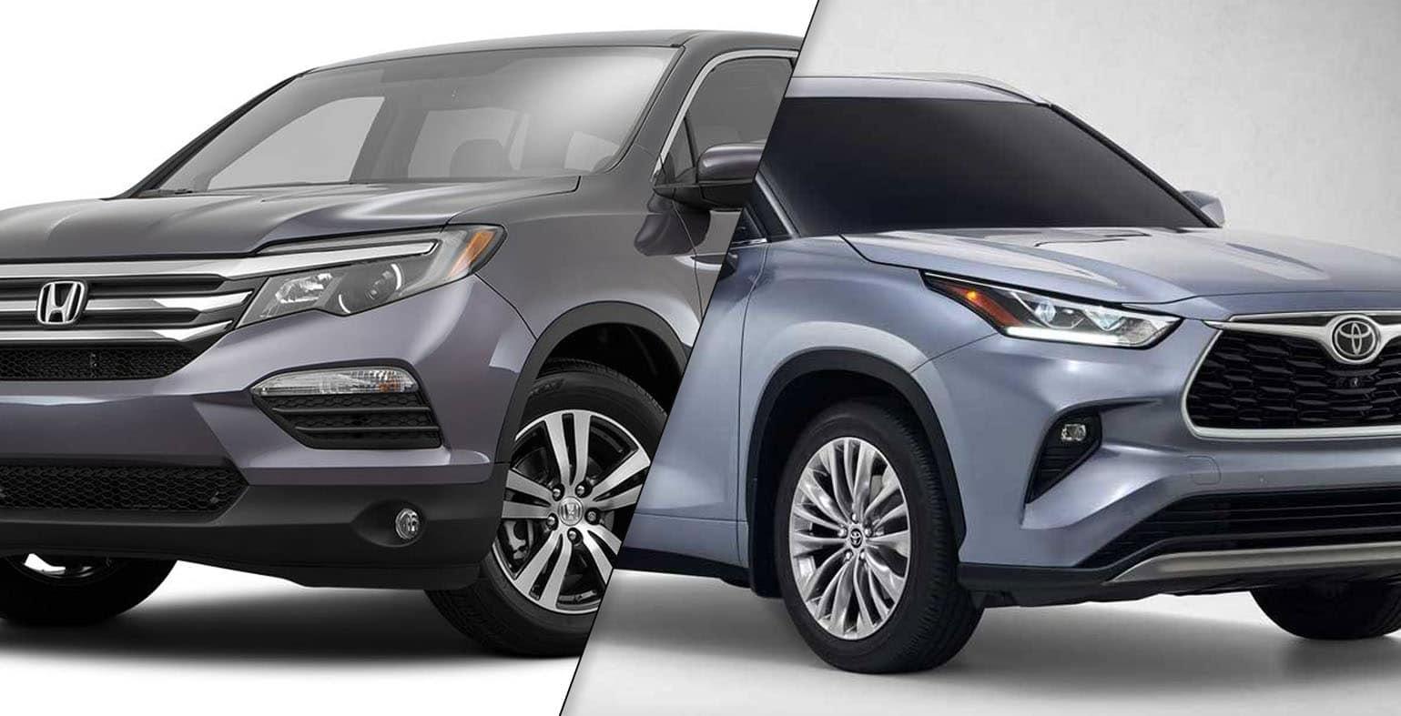 2020 Toyota Highlander vs 2019 Honda Pilot
