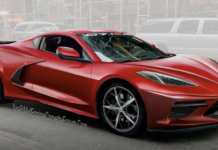 2020 Chevy Corvette C8 rendering