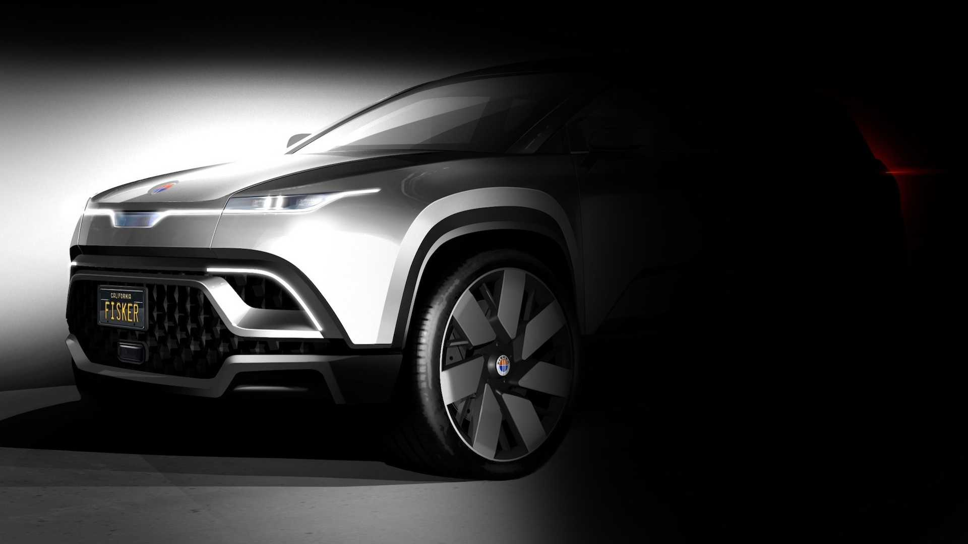 Fisker Electric SUV Second Teaser