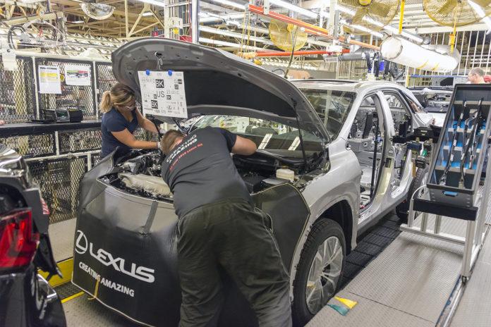 Lexus Production in Canada