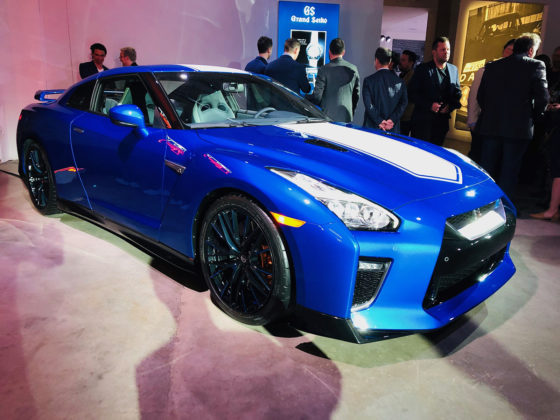 2020 Nissan GT-R 50th Anniversary 2019 New York Auto Show