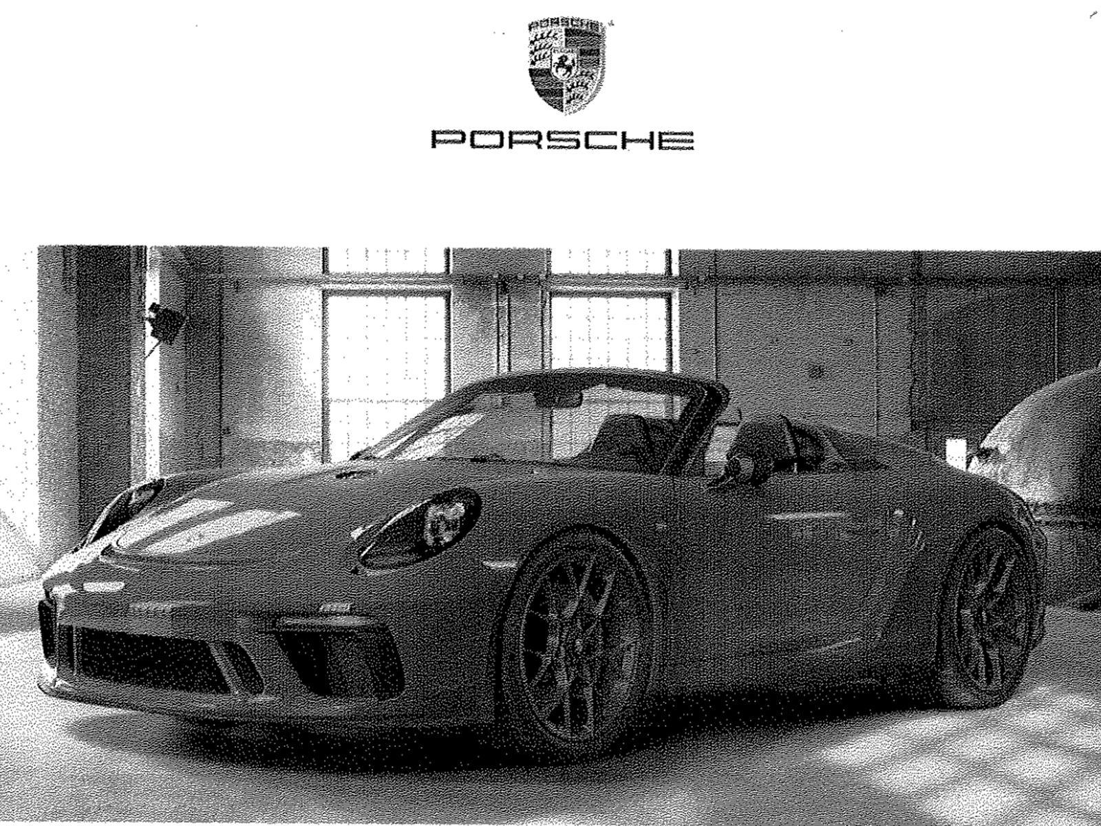 Porsche 911 Speedster New York Auto Show
