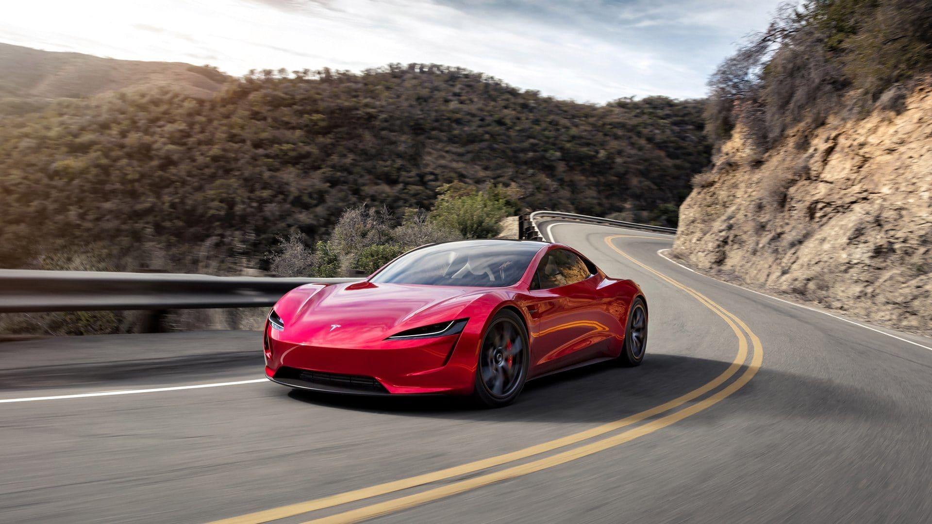 Tesla Roadster Range