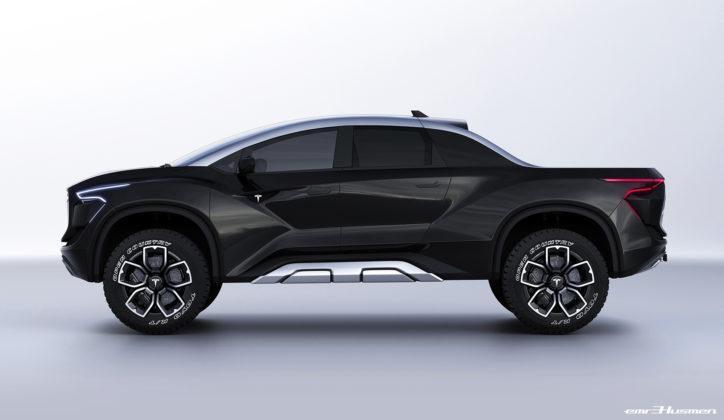 Tesla pickup rendering