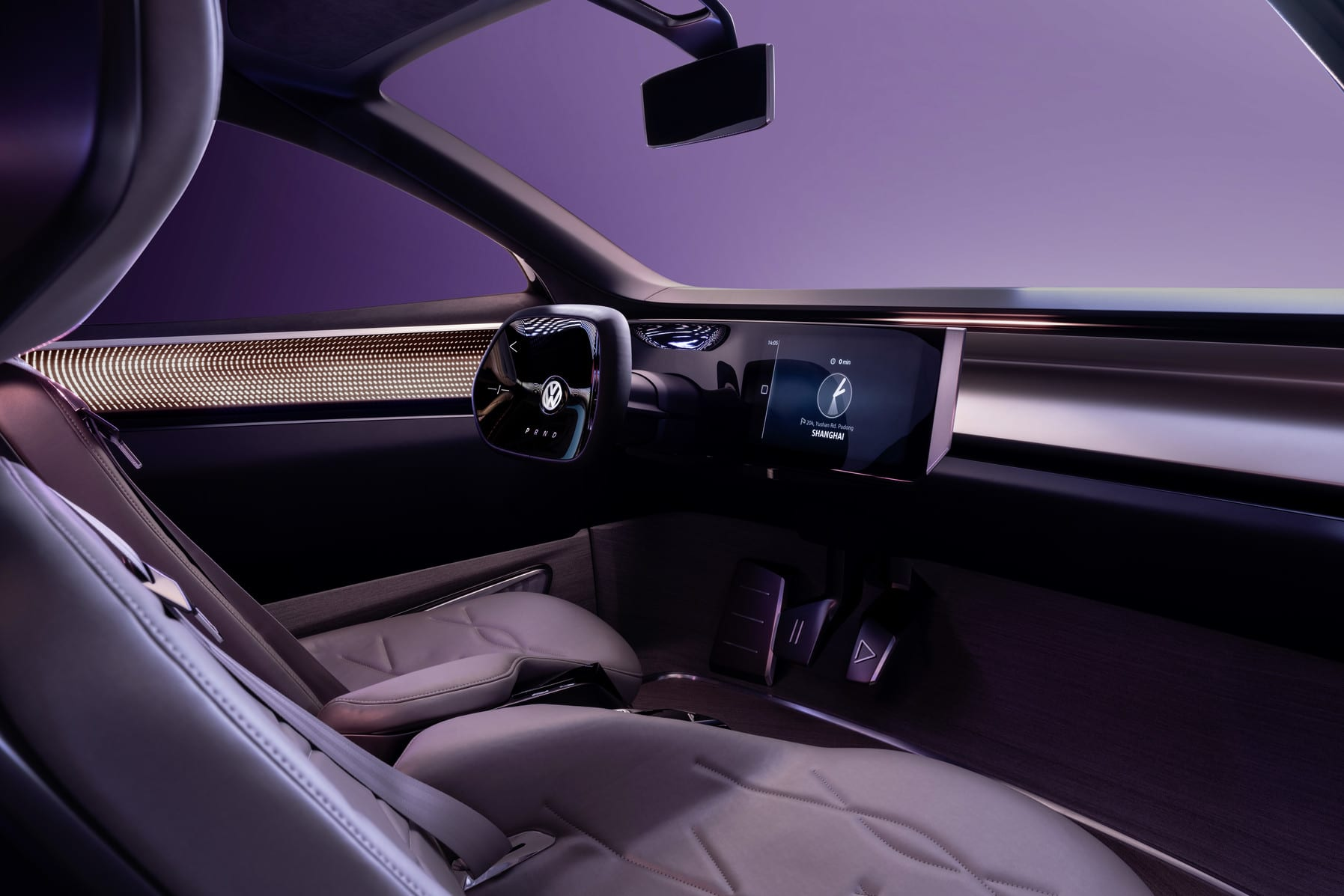 Volkswagen ID. ROOMZZ Electric SUV interior