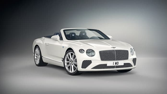 2019 Bentley Continental GT Convertible Bavaria Edition by Mulliner