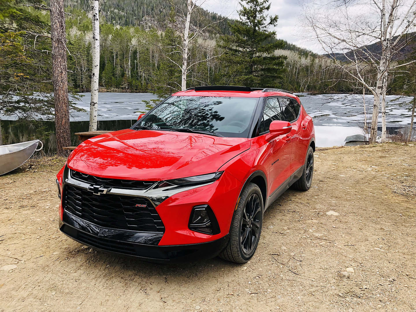 Red 2019 Chevrolet Blazer