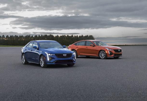 2020 Cadillac CT4-V and 2020 Cadillac CT5-