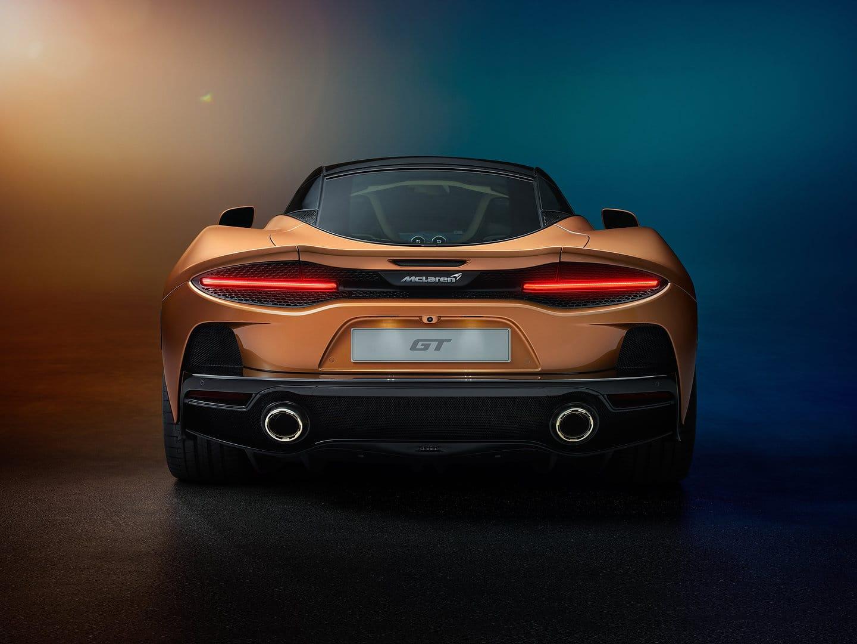 2020 McLaren GT rear