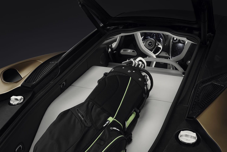 2020 McLaren GT trunk
