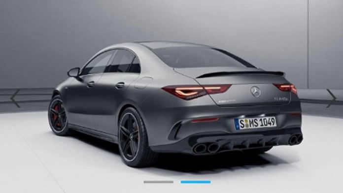 Mercedes-AMG CLA 45 leaked image