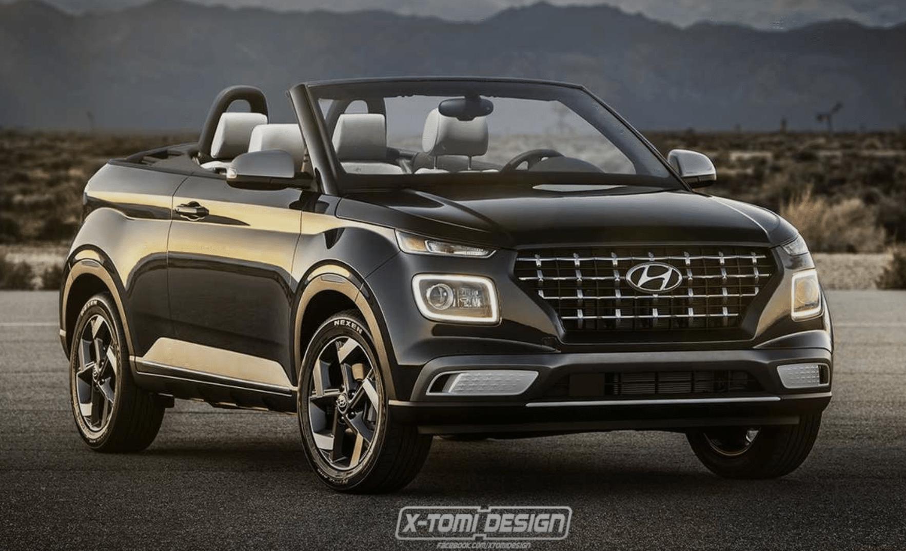 Hyundai Venue Cabriolet Rendering