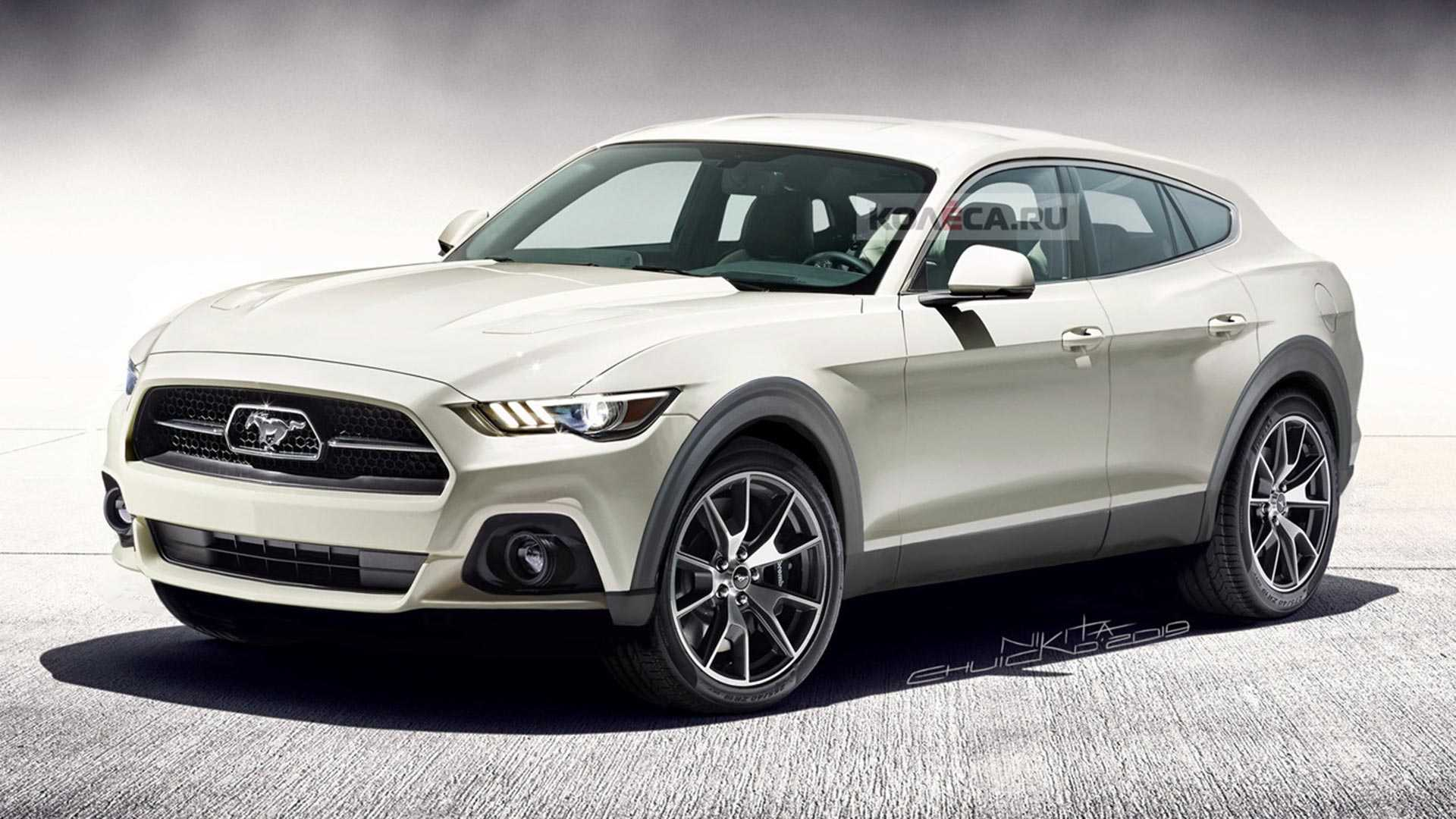 Ford Mustang Electric SUV rendering