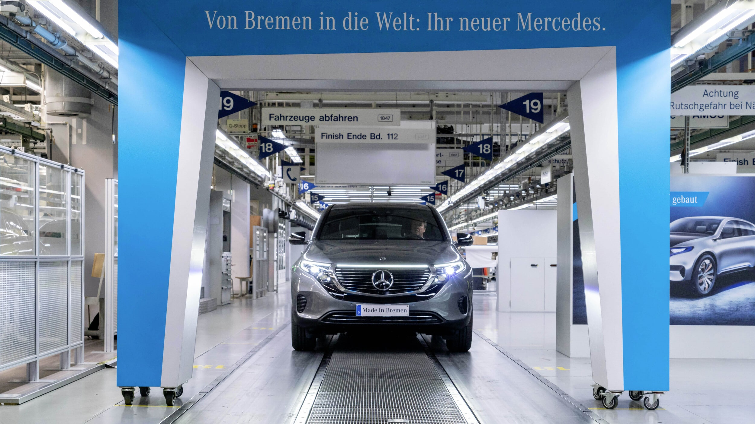 Mercedes-Benz EQC Production starts