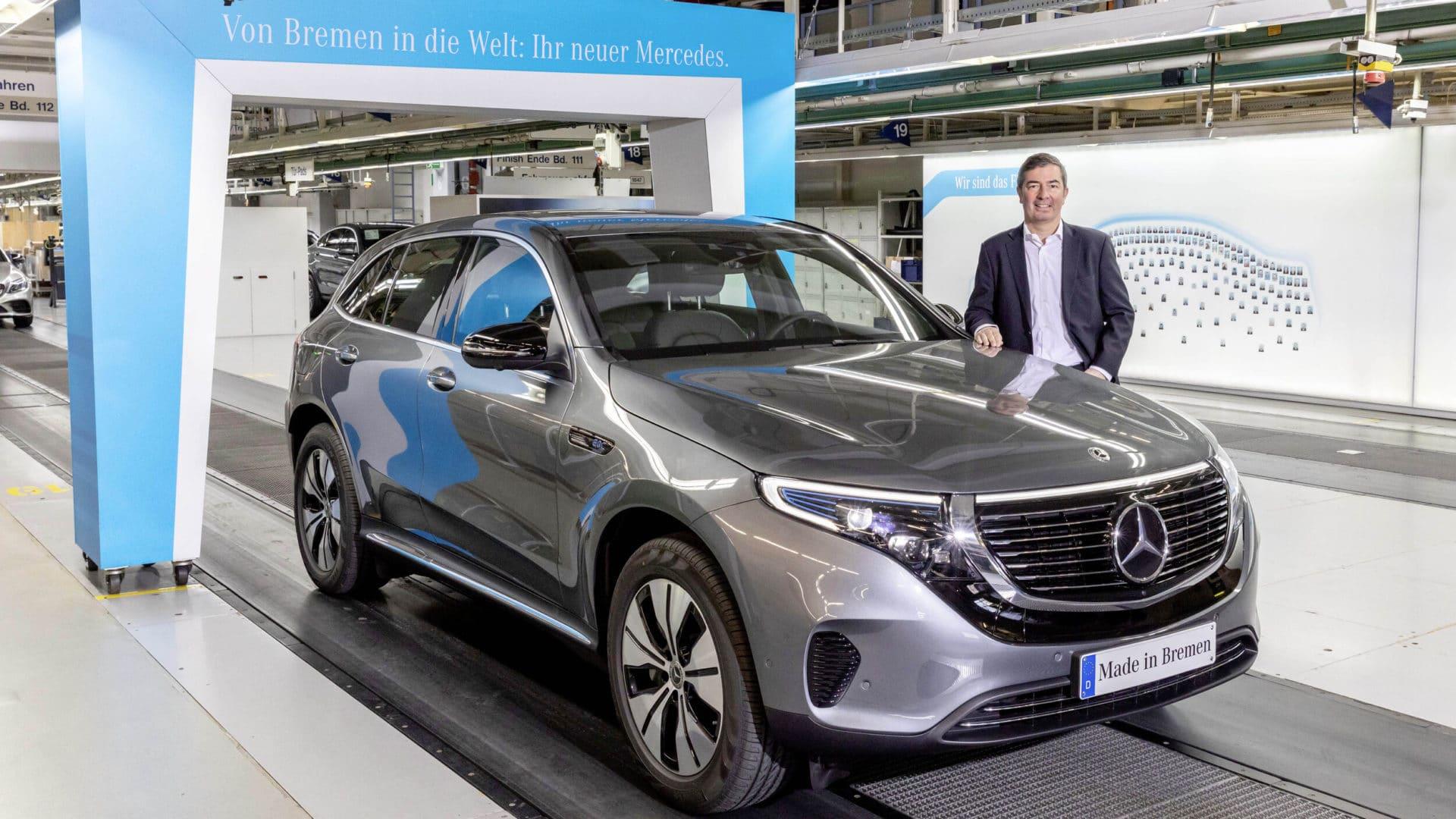 Mercedes-Benz EQC Production starts
