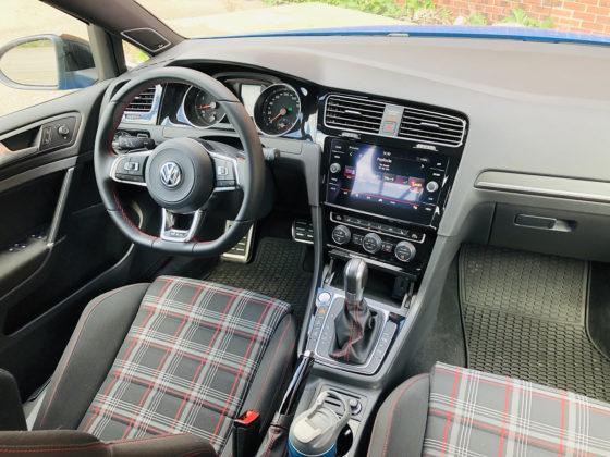 Current Volkswagen Golf interior