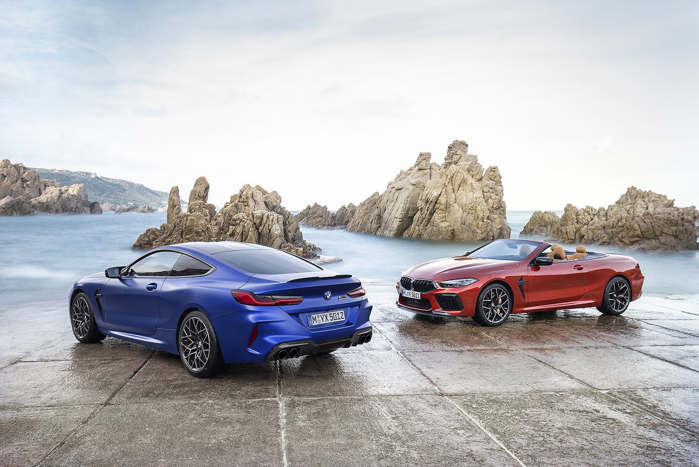 2020 BMW M8 Competition Coupe and 2020 BMW M8 Competition Convertible
