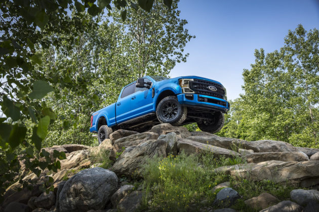 2020 F-Series Super Duty Tremor Off-Road Package