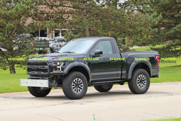 Ford Bronco Test Mule
