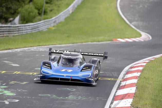 Volkswagen ID.R on the Nürburgring with Romain Dumas