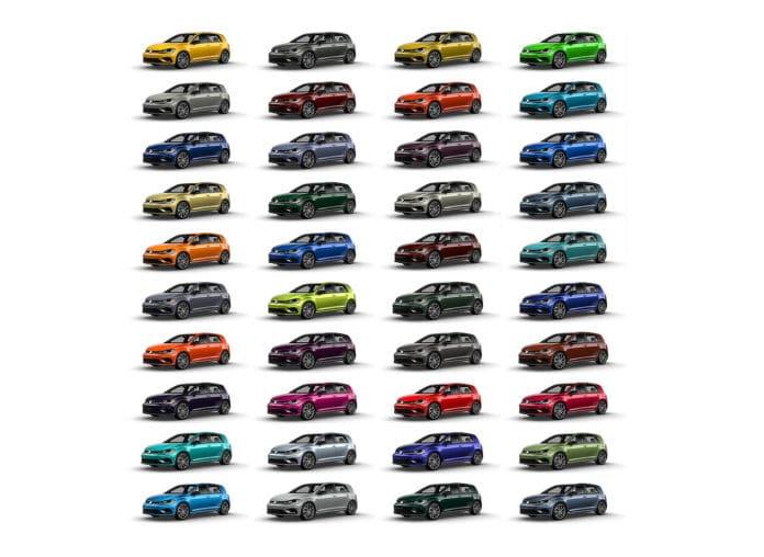 Volkswagen Spektrum Program for the 2019 Golf R