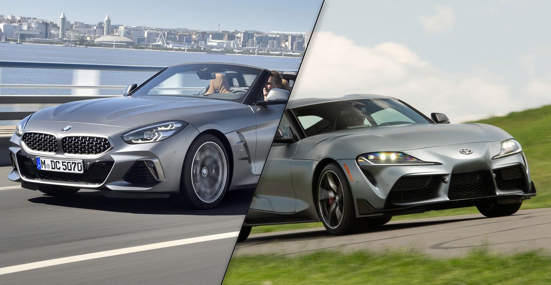2020 BMW Z4 M40i vs. 2020 Toyota GR Supra