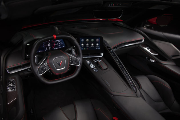 2020 Chevy Corvette C8 Interior