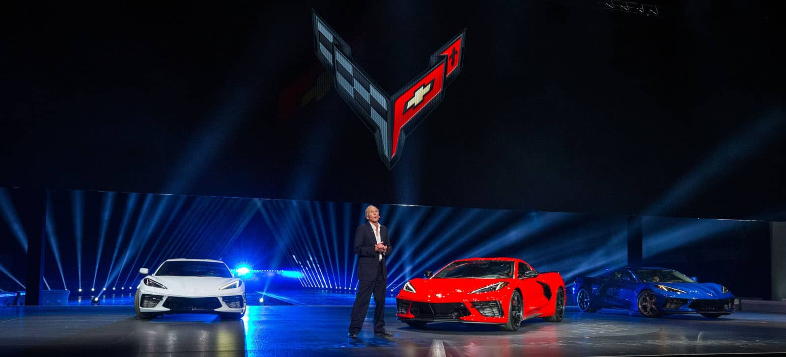 2020 Chevrolet Corvette C8 New Mid Engined Icon Unveiled Motor