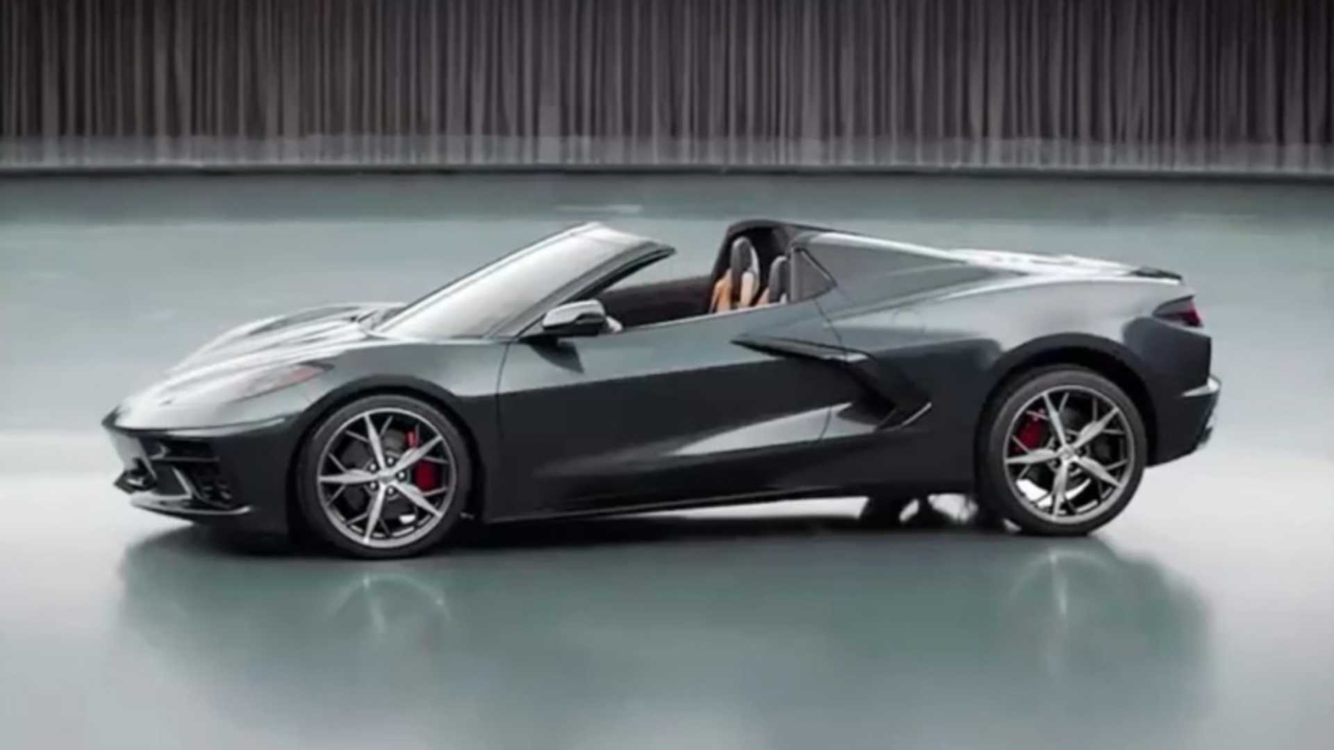 2020 Mid-Engined Chevrolet Corvette Convertible Also ...