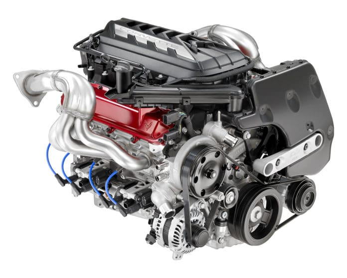 2020 Chevrolet Corvette Stingray C8 Engine