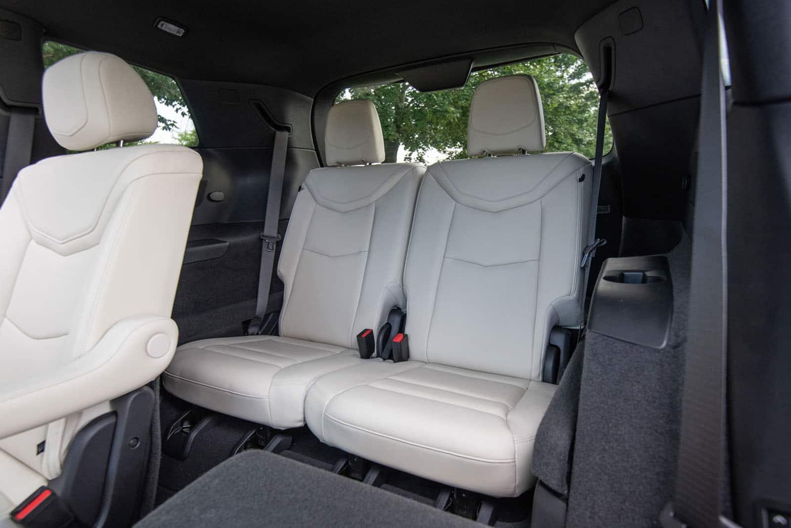 2020 Cadillac XT6 rear seats
